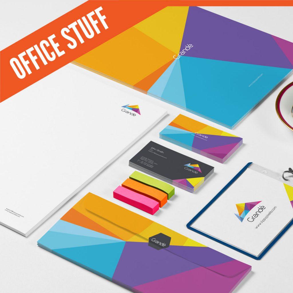 עיצוב ניירת משרדית מקצועית | אורית חזון מנדל עיצוב גרפי ובניית אתרים בירושלים