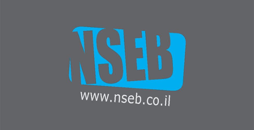 NSEB | עיצוב כרטיס ביקור | עיצוב ניירת משרדית מקצועית | אורית חזון מנדל עיצוב גרפי ובניית אתרים בירושלים